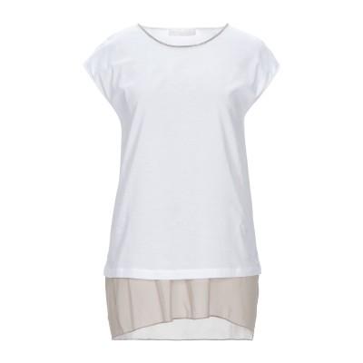 ファビアナフィリッピ FABIANA FILIPPI T シャツ ライトブラウン 40 コットン 100% / エコブラス T シャツ