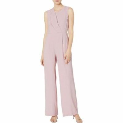 カルバンクライン Calvin Klein レディース オールインワン ジャンプスーツ ノースリーブ ワンピース・ドレス Sleeveless Gauze Jumpsuit