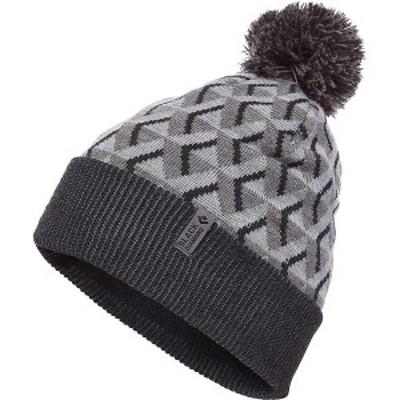 ブラックダイヤモンド メンズ 帽子 アクセサリー Black Diamond Pom Beanie Gray Icon