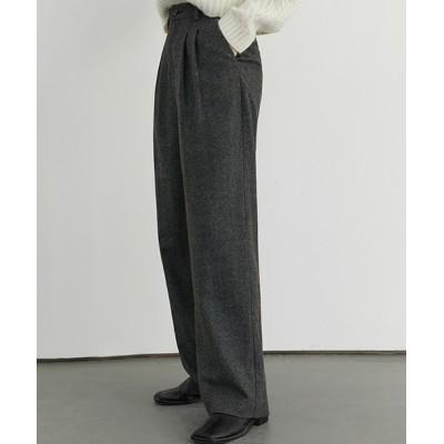 chuclla / 【Fano Studios】2 tac semi wide wool slacks FD20K026 WOMEN パンツ > スラックス