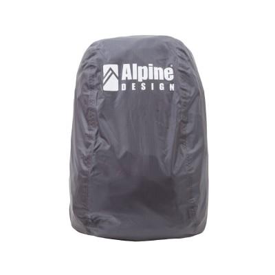 (Alpine DESIGN/アルパインデザイン)アルパインデザイン/ザックカバー(20L-30L)/ユニセックス チャコールグレー