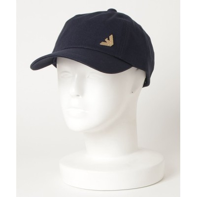EMPORIO ARMANI / 【エンポリオ アルマーニ EA7】TRAIN EVOLUTION ゴールドチャーム ベースボールキャップ WOMEN 帽子 > キャップ