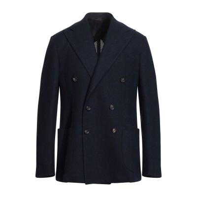 DOPPIAA テーラードジャケット ダークブルー 52 バージンウール 90% / ナイロン 10% テーラードジャケット