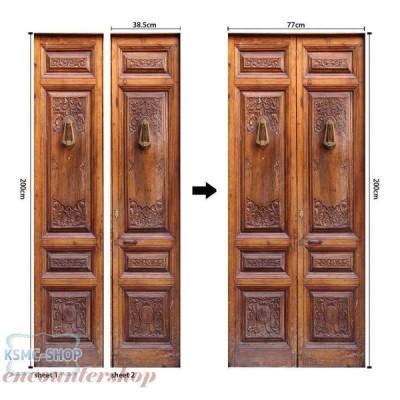 ウォールステッカー シール  ドアステッカー 高品質 室内用 ドア装飾シート 防水シール 部屋 玄関 ドアシート 3D ドア壁紙 DIY おしゃれ