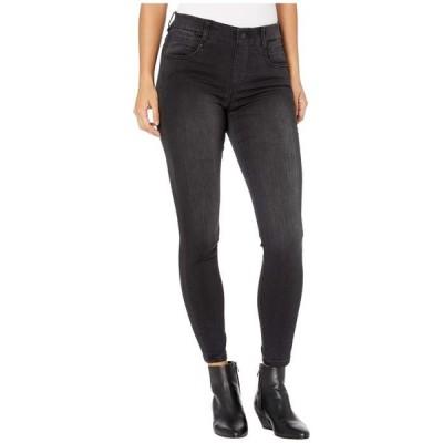 リバプール レディース デニムパンツ ボトムス Petite Gia Glider/Revolutionary Pull-On Jeans in Night Jet