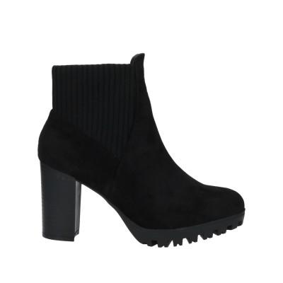 SEXY WOMAN ショートブーツ ブラック 36 紡績繊維 ショートブーツ