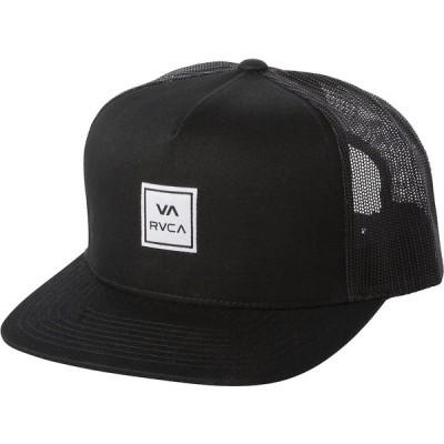 RVCA Transfer Trucker Hat Cap Black キャップ 送料無料