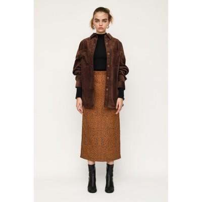 【スライ/SLY】 JENA LEOPARD ミディアムスカート