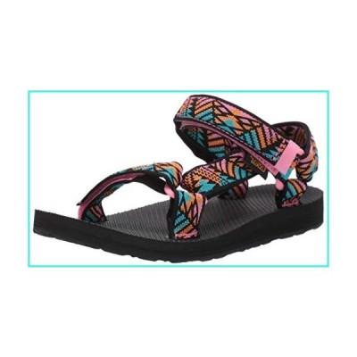 【新品】Teva Women's Original Universal Sandal, Boomerang Pink Lemonade, 7 Medium US(並行輸入品)