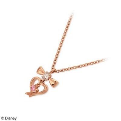 ネックレス レディース Disney シルバー ピンクゴールド ハート キュービックジルコニア 誕生日プレゼント ギフト