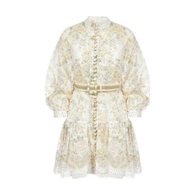 ジマーマン レディース ワンピース トップス Zimmermann Amelie Embroidered Dress -