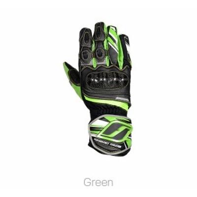 フラッグシップ/FLAGSHIP ディフェンドカーボングローブ バイク/グローブ/メンズ グリーン LLサイズ FG-W601