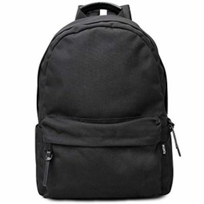 【新品】[レジスタ] バックパック リュックサック ブラック メンズ レディース ポリエステル A4 通勤通学 大容量 撥水加工 630 [並行輸入