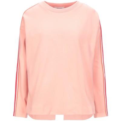 チンティ・アンド・パーカー CHINTI & PARKER スウェットシャツ サーモンピンク XS コットン 100% スウェットシャツ