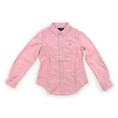 ラルフローレン RalphLauren シャツ・ブラウス 130サイズ 女の子 子供服 ベビー服 キッズ