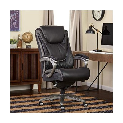 Serta Big and Tall Smart Layers Blissfully Executive Office Chair, Black並行輸入品