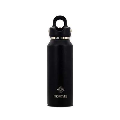 Revomax V2 真空断熱二重壁ウォーターボトル ツイストフリー ねじ不要 断熱フラスコ 冷たい飲み物や温かい飲み物