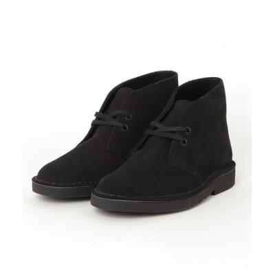 Clarks / Desert Boot 2 / レディース デザートブーツ2 (ブラックスエード) WOMEN シューズ > ブーツ