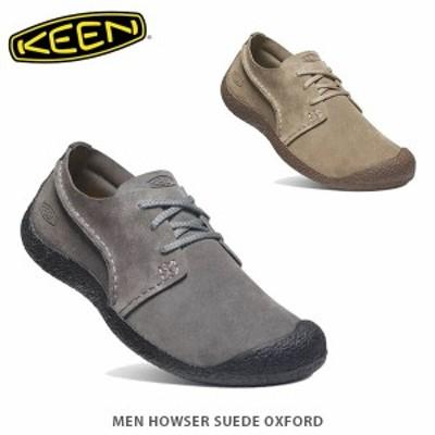 送料無料 KEEN キーン スニーカー メンズ ハウザー スエード オックスフォード MEN HOWSER SUEDE OXFORD KEE0396 国内正規品