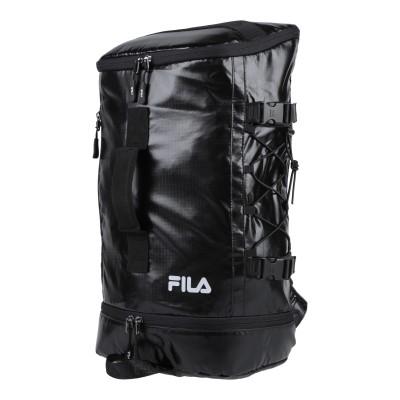 FILA HERITAGE バックパック&ヒップバッグ ブラック ポリエステル / ポリウレタン バックパック&ヒップバッグ