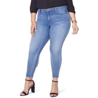 エヌワイディージェイ レディース デニムパンツ ボトムス Ami Ankle Skinny Jeans CLEAN CABRILLO