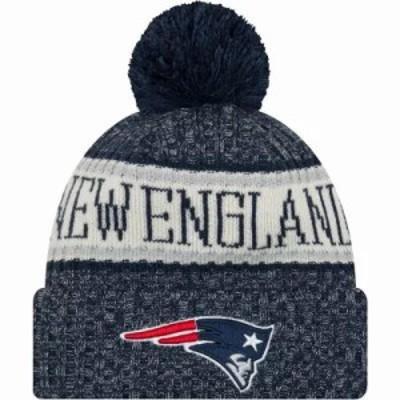 ニューエラ ニット New England Patriots Sideline Cold Weather Navy Sport Knit