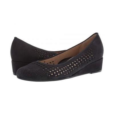 ara アラ レディース 女性用 シューズ 靴 ヒール Lois - Blue Nubuck