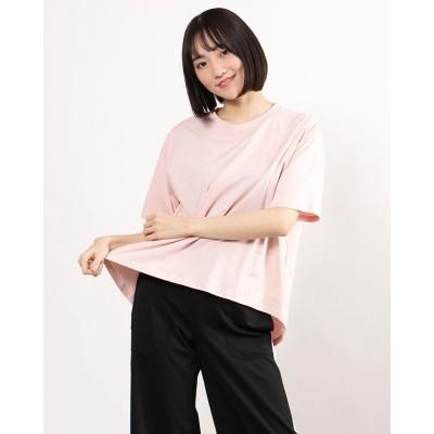 プーマ PUMA レディース 半袖Tシャツ HER オープンバック SS Tシャツ 588461 (ピンク)