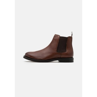 ウォークロンドン ブーツ&レインブーツ メンズ シューズ JACOB CHELSEA - Classic ankle boots - brown