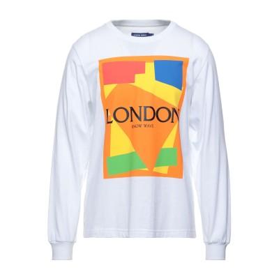 KNOW WAVE T シャツ ホワイト L コットン 100% T シャツ