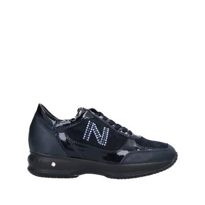 NERO DI SOLE スニーカー&テニスシューズ(ローカット) ダークブルー 36 革 スニーカー&テニスシューズ(ローカット)