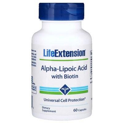 ビオチン配合アルファリポ酸、カプセル60粒