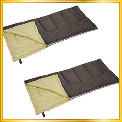 キャプテンスタッグ(CAPTAIN STAG) 寝袋 シュラフ 【最低使用温度7度】 封筒型シュラフ フェレール 中綿量1200g ブラ