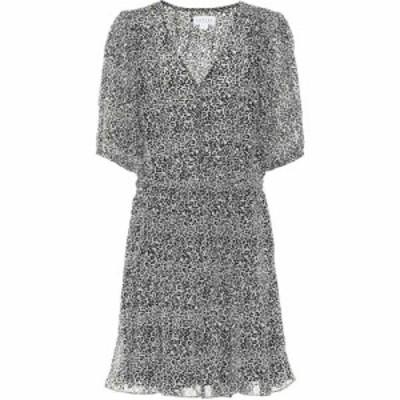ベルベット グラハムandスペンサー Velvet レディース ワンピース ワンピース・ドレス Saskia Leopard-Print Minidress Leopard