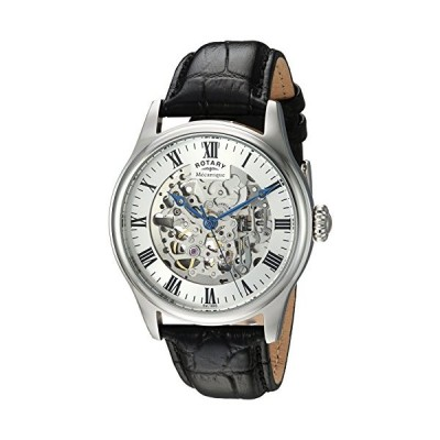 Rotary Men's Analog Automatic-self-Wind Watch with Leather Calfskin Strap GS02940/06 並行輸入品