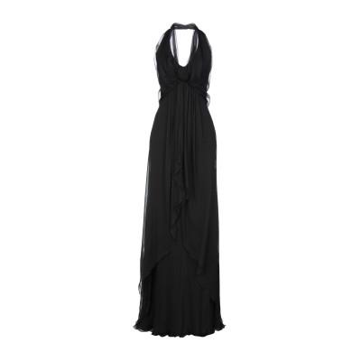 アルベルタ フェレッティ ALBERTA FERRETTI ロングワンピース&ドレス ブラック 40 シルク 100% ロングワンピース&ドレス
