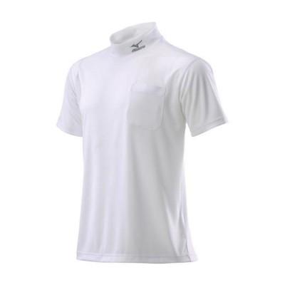 ミズノ公式 ナビドライワークシャツ半袖 ユニセックス ホワイト