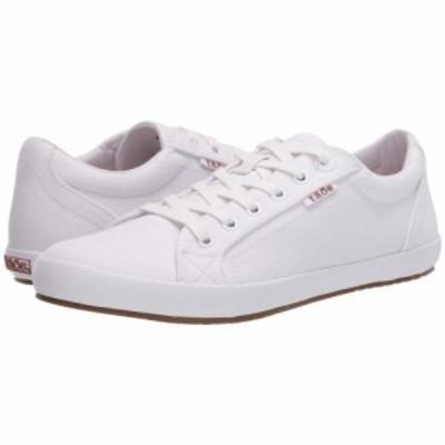 タオス Taos Footwear レディース スニーカー シューズ・靴 Star White/White
