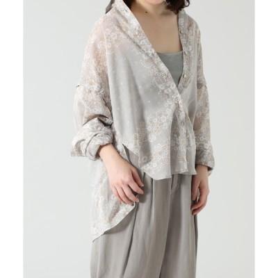 シャツ ブラウス (CREOLME)バンダナプリントシャツ