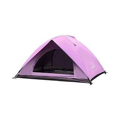 海外限定 KCGNBQING Tents for Camping Waterproof Backpacking Tent 2-Man Lightweight Tent Waterproof Double Layer Dome Tent Outdoor Campin