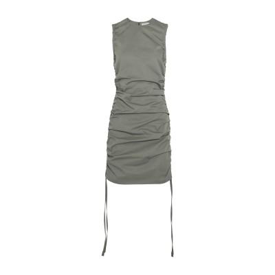 バーバラ・カサソラ CASASOLA ミニワンピース&ドレス グレー 44 コットン 100% ミニワンピース&ドレス