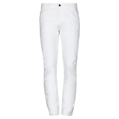 フランキー モレロ FRANKIE MORELLO パンツ ホワイト 30 コットン 98% / ポリウレタン 2% パンツ