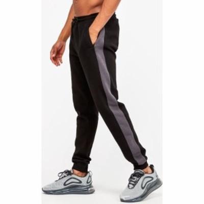 アサイラム Asylum メンズ スウェット・ジャージ ボトムス・パンツ Broadbent Fleece Pant Black/Charcoal