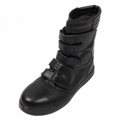 コーコス 黒豹 高所用 半長靴マジック 27.0cm 鉄製先芯 ブラック ZA-08