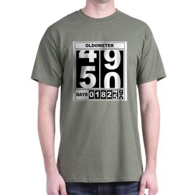 ユニセックス 衣類 トップス CafePress - 50Th Birthday Oldometer T Shirt - 100% Cotton T-Shirt Tシャツ