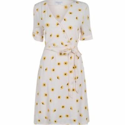 ファビエンヌ シャポット Fabienne Chapot レディース パーティードレス ラップドレス ワンピース・ドレス emily daisy wrap dress White