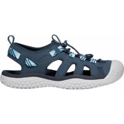キーン レディース サンダル シューズ KEEN Women's SOLR Sandals Navy/Blue
