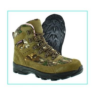 【新品】Itasca Women's Thunder Ridge Uninsulated Boots, Size 8 Ankle, Brown/camo, 8 M US(並行輸入品)