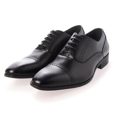 マリオロゼッティ MARIO ROZZETTY ビジネスシューズ 紳士靴 軽量 防滑 抗菌仕様 (BK)