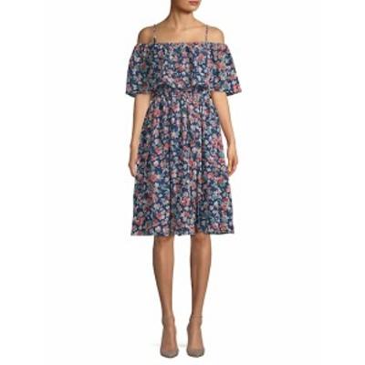 KAS ニューヨーク レディース ワンピース Sophia Floral Knee-Length Dress